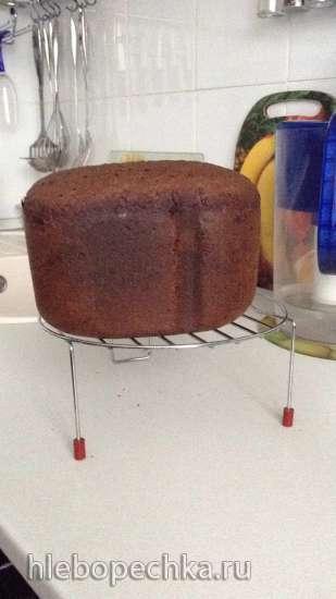 Ржано-пшеничный хлеб с солодом на ржаной закваске