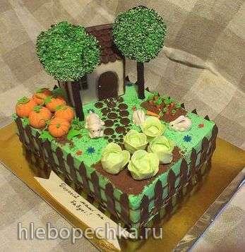 Город. Сад. Дача. Огород (торты)