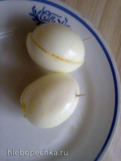 Gefuellte Eier in Baden (фаршированные яйца по-баденски)