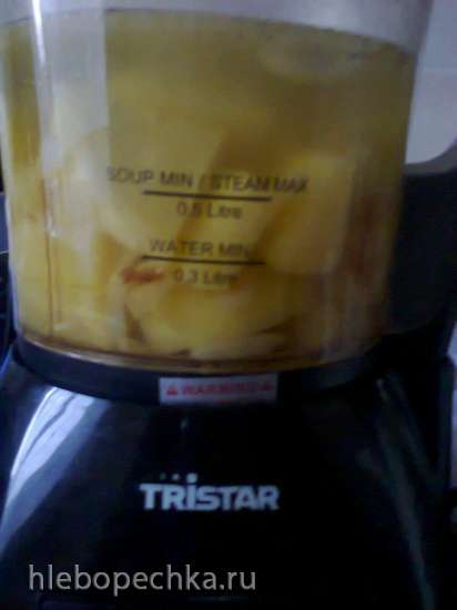 Куриный суп с раками (Suppenhuhn mit Flusskrebsen)