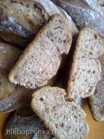 Хлебцы пшенично-ржаные Барбариски (на ржаной закваске)