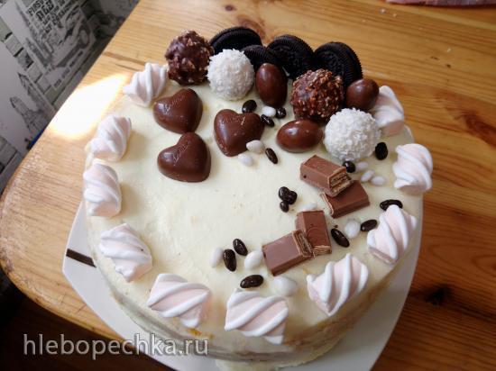 Торт Классический (бисквит и крем)