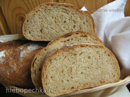 Пшеничный хлеб с амарантовой мукой