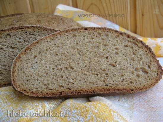 Пшенично-ржаной подовый хлеб