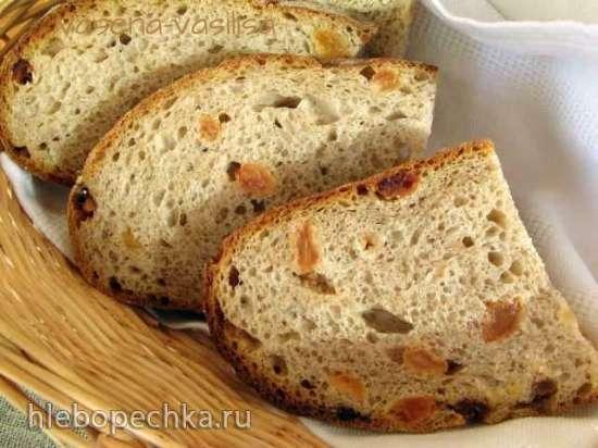 Хлеб пшеничный с изюмом