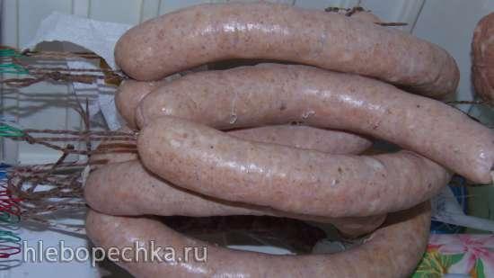 Домашняя вареная колбаса в мультиварке Polaris 0507 Kitchen