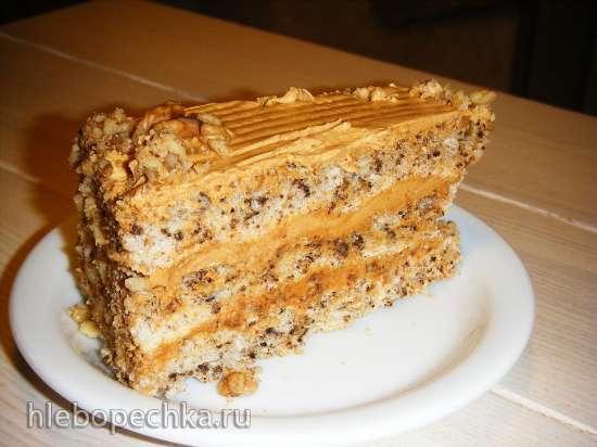 Торт «Ореховый» из «Пузатой хаты»