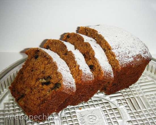 Тыквенный кекс на кефире рецепт с фото