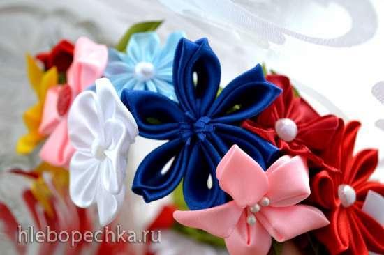 Канзаши. По мотивам японского искусства