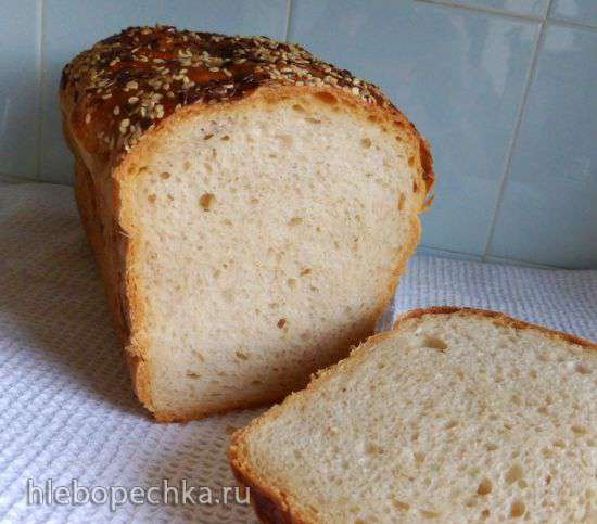 Заварной фруктовый хлеб