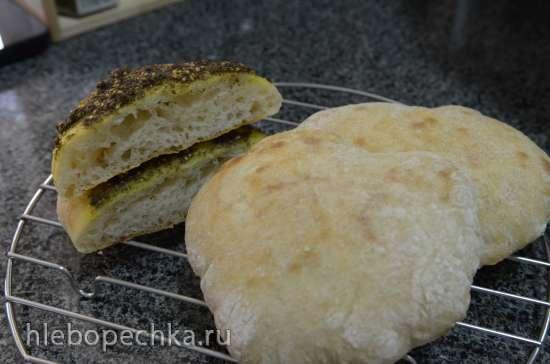 Тесто для лепёшек, пиццы, хачапури за 5 минут в день