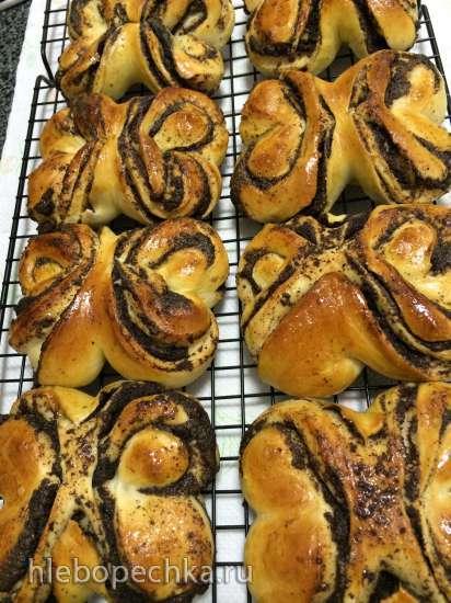 Тесто дрожжевое универсальное (All-purpose Sweet Dough) Peter Reinhart