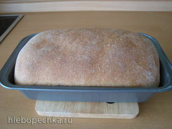 100% цельнозерновой хлеб (100% Whole Wheat Sandwich Bread) Peter Reinhart