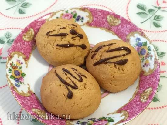 Мягкое карамельное печенье на сгущенке