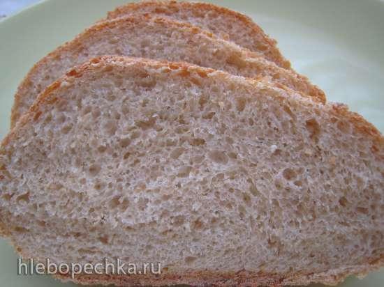 Овсяный хлеб (Oatmeal Bread) за 5 минут в день