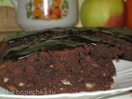 Шоколадный пирог с картофелем и фундуком (Torta alle patate con cioccolato)