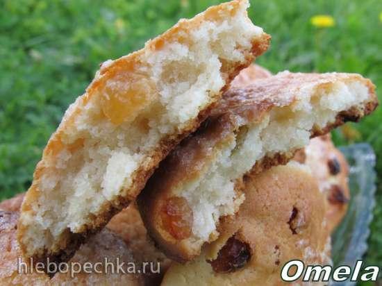 Печенье «Творожные лепешки с изюмом»