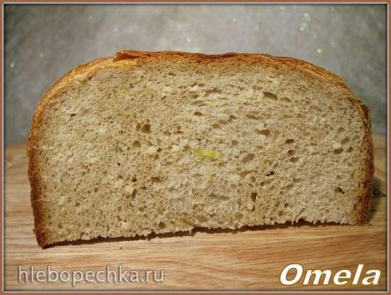 Scarlett-400. Хлеб пшеничный с соком кабачка в хлебопечке