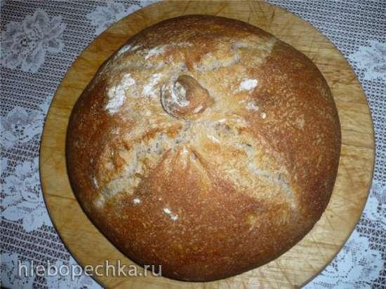 Галисийский хлеб в духовке
