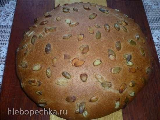Средиземноморский хлеб в духовке
