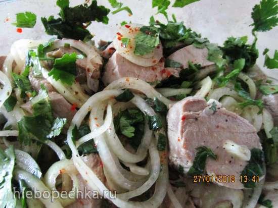 Холодный шашлык из свинины