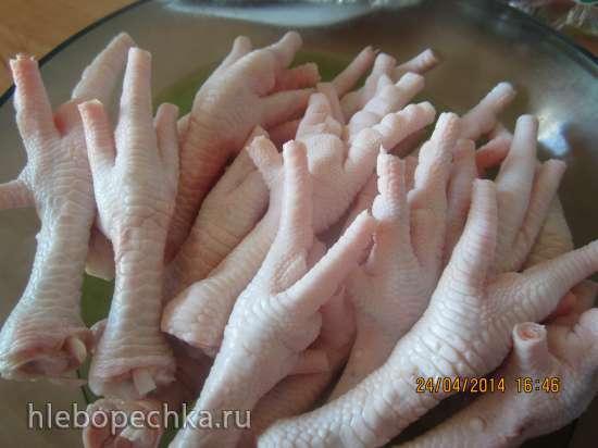 Куриные лапки в соевом соусе