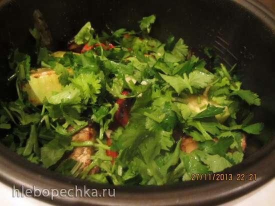 Соте овощное