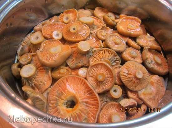 Заморозка грибов