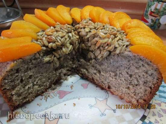 Маковый пирог Подсолнух