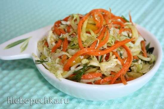 Кабачково-морковная смесь для салатов