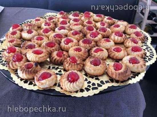 Марципановое печенье Парижанка