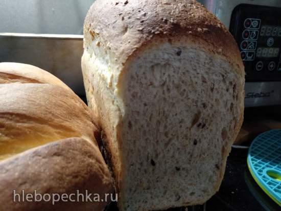 Хлеб пшеничный формовой «7 злаков» (духовка)