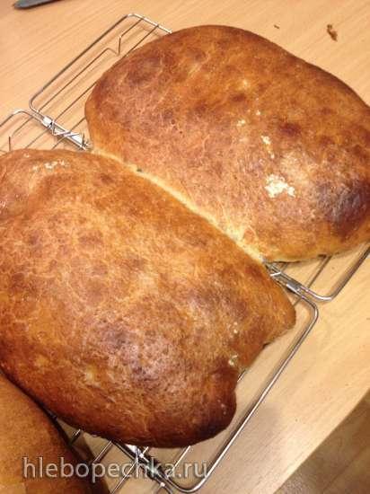 Cельский хлеб (Pain a l'Ancienne Rustic Bread) Peter Reinhart
