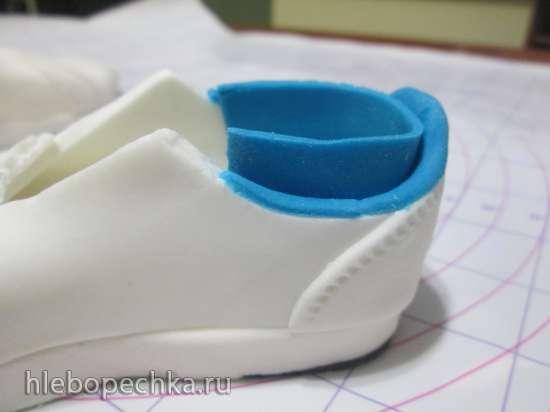 Кроссовки из мастики (мастер класс)