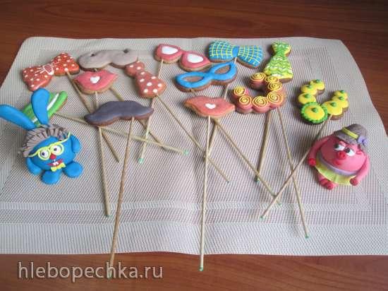 Мягкие пряники для росписи