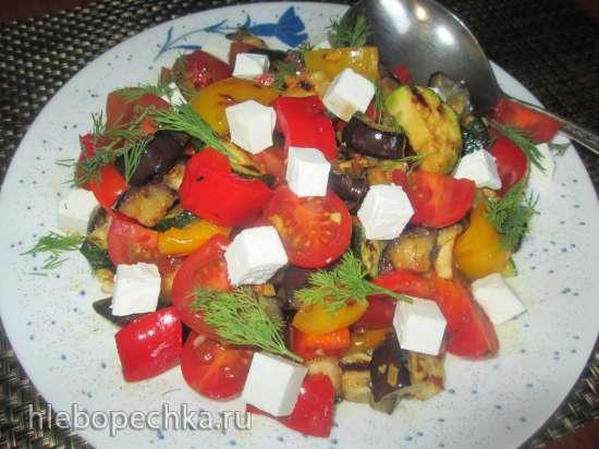 Салат по мотивам  кафе «Винегрет»