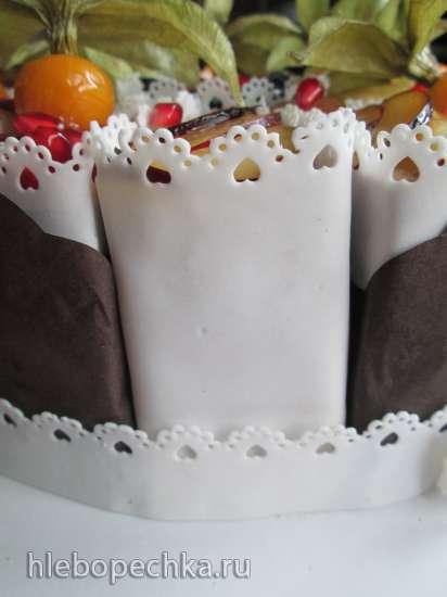 Торт с карамельным желе