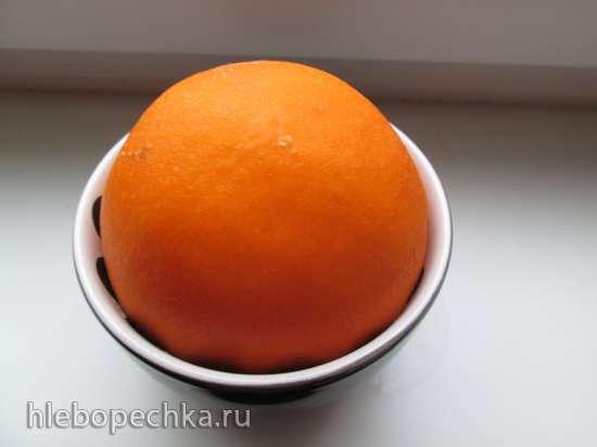 Апельсиновое желе для прослойки торта