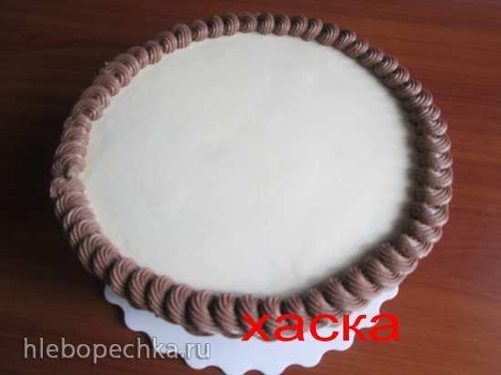 Торт Корзина Плетение кремом. Мастер-класс
