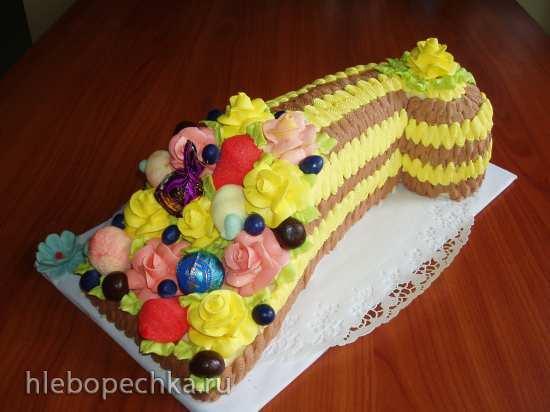 Торт «Рог изобилия» Мастер-класс