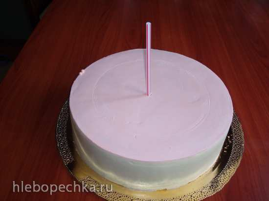 Сборка многоярусного торта