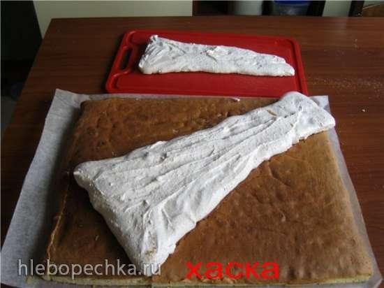 Торт Букет цветов Мастер-класс