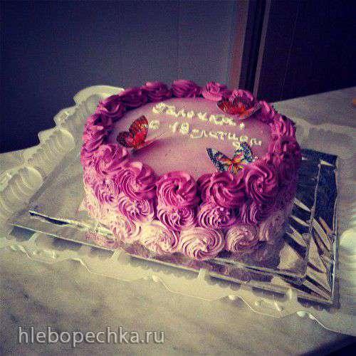 Торт розачка фото