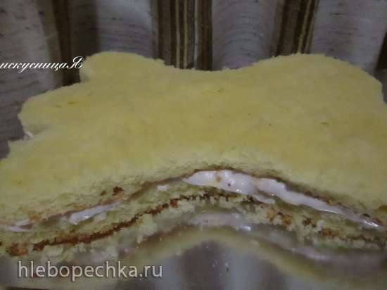 Торт Белый Бим Мастер-класс
