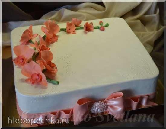 Торт Роза (мастер-класс)