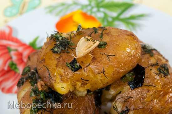 Запеченный картофель с хрустящей корочкой