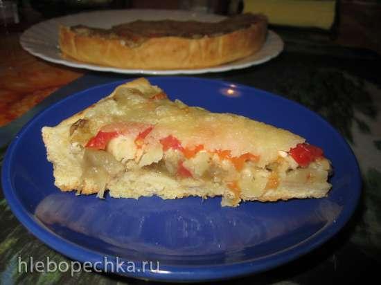 Очень вкусный пирог с баклажанами