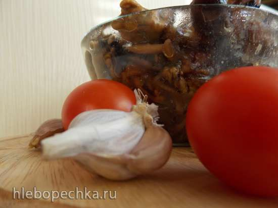 Мидии и осьминоги в соусе Терияки