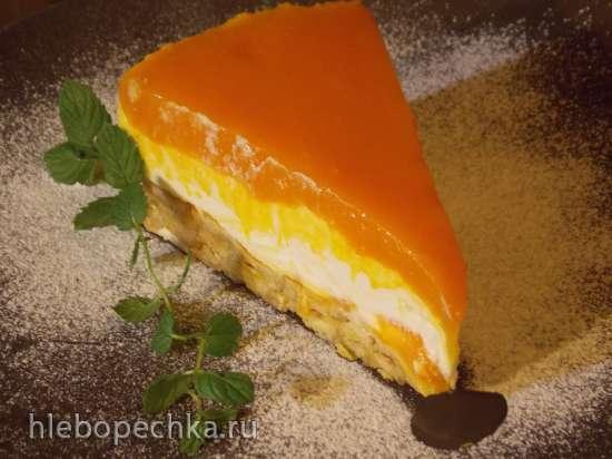 Творожно-тыквенный десерт Осенняя мечта Жульена