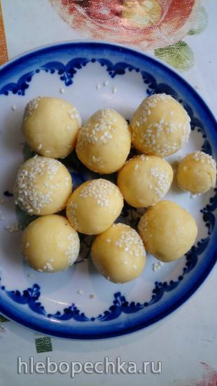 Сырные шарики другим манером